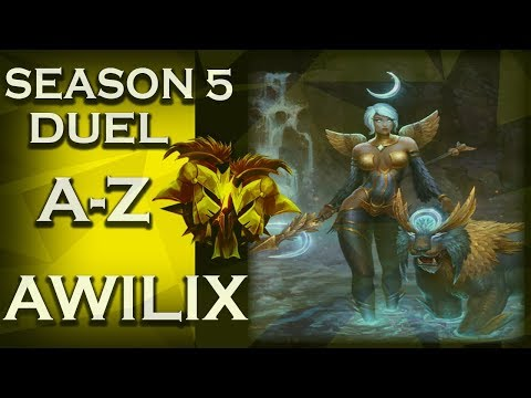 Smite: Season 5 Duel A-Z! | Awilix | Feather Stepping | #15