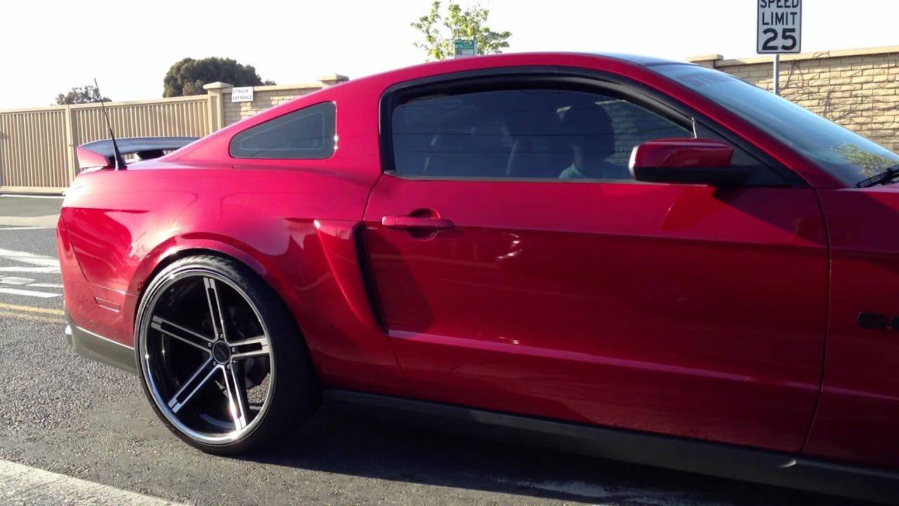 Street Actions 2011 Mustang Gt California Special Cruisin
