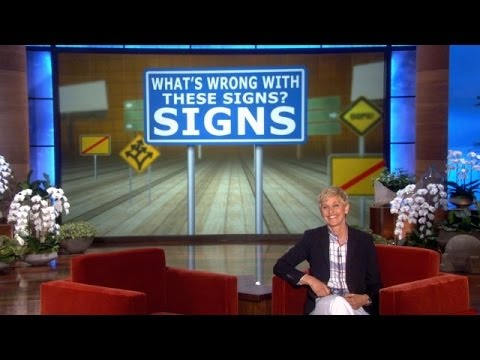 Earth Day And Funny Signs video