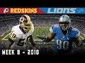 A Wild One in the Motor City! (Redskins vs. Lions, 2010)