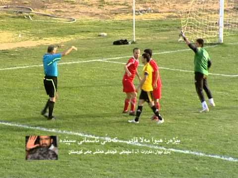 hiwa mulah qader speda channal kurdistan cup ararat 3   1 sulyamnya 24 10 2012