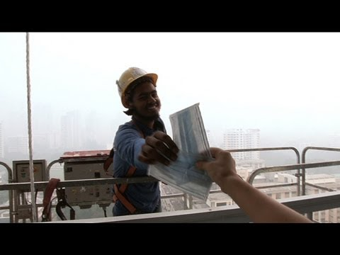 Haze in Singapore. Foreign workers need protection too...