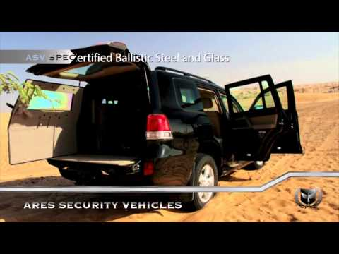 Ares Security Vehicles - Toyota LandCruiser