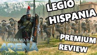 Total War ARENA - Tier 8 Legio IX Hispania - Roman Premium Unit Review & Gameplay!