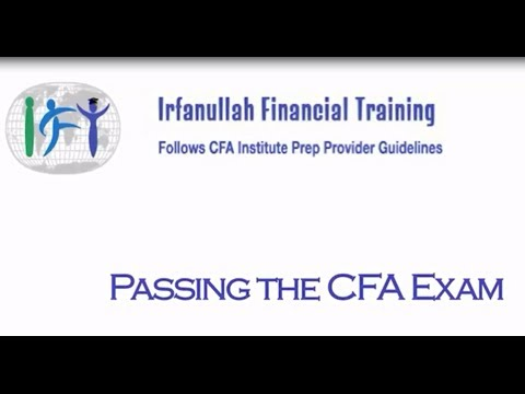 Why study CFA with Irfanullah Financial Training
