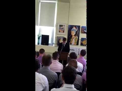 Patrician Academy Mallow 6th Year Graduation Speech 2013 - 05/02/2014