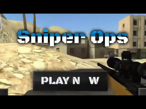 Sniper Ops 3D - Shooting Game APK Cover
