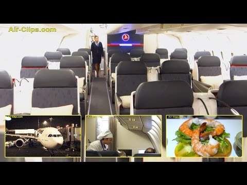 Turkish Airlines Airbus A330-300 Business Class Kuala Lumpur to Istanbul. By [AirClips]