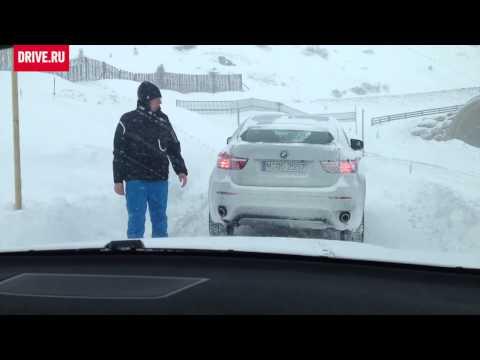 BMW X6 M, презентацияx xDrive в Альпах, 2012