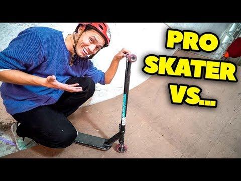PRO SKATER VS PRO SCOOTER