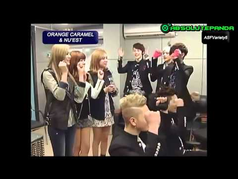 [Vietsub] NU'EST with Orange Caramel at M!Net Wide News