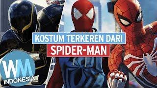 PILIH YANG MANA ?? Daftar 10 Kostum TERKEREN Dari SPIDER-MAN !!