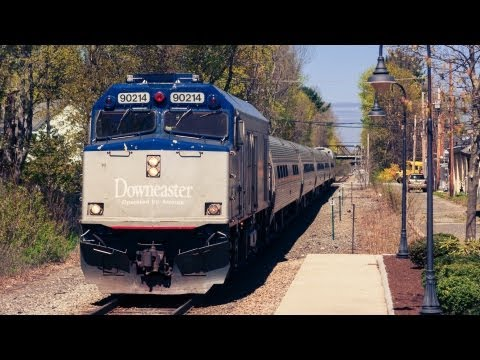 Take a Ride on Amtrak's Downeaster