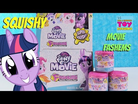 My Little Pony Movie Fashems Full Set Series 7 Toy Review Unboxing   PSToyReviews