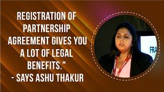 Registration of partnership agreement