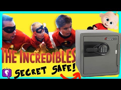 Jack Jack's SECRET SAFE Adventure Part 4 With The Incredibles By HobbyKidsTV