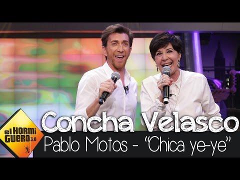 Concha Velasco y Pablo Motos cantan 'La chica ye-yé 2.0' en El Hormiguero 3.0