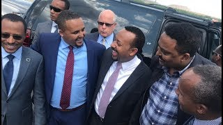 When Jawar Mohammed of Oromia Media Network meets Prime Minister Abiy Ahmed in Minnesota