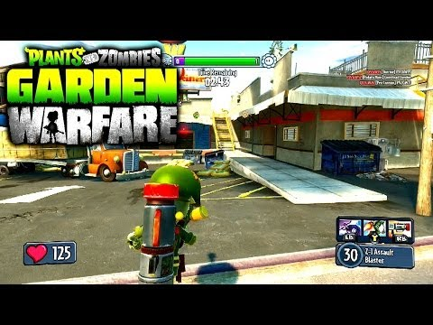 Plants VS Zombies Garden Warfare Multiplayer #3 - GARDENS & GRAVEYARDS Gameplay (Xbox One)