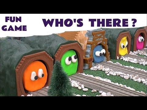 Play Doh Surprise Egg Shapes Thomas And Friends Guess The Engines 5 Play-Doh Thomas Tank Toy