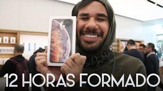 12 HORAS FORMADO POR EL NUEVO IPHONE XS MAX *Mexicanos al grito de apple (GIVEAWAY)