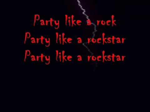 Da Shop Boyz - Party Like A Rockstar (With Lyrics)