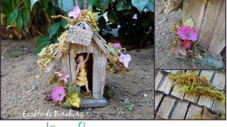 How to Make a Birdhouse Fairy Cottage by EcoHeidi Borchers