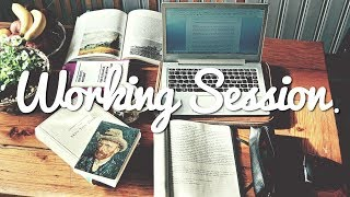 WORKING SESSION - STUDY WITH ME / US