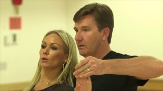 First Steps: Daniel O'Donnell & Kristina Rihanoff - Strictly Come Dancing: 2015 - BBC One