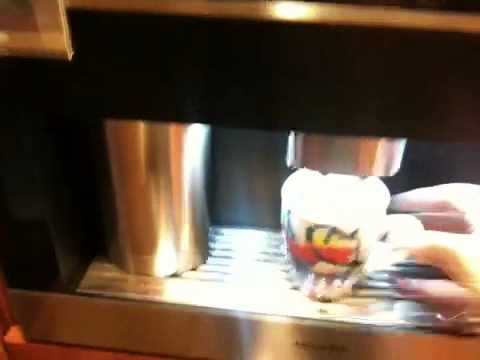 miele built in coffee machine manual