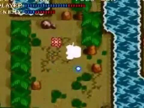 Lets play Soul Blazer BLIND Part 8 Coconut Throwing Tree