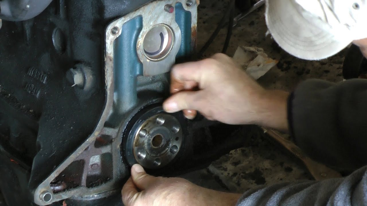 How To Change Your Rear Main Seal Youtube