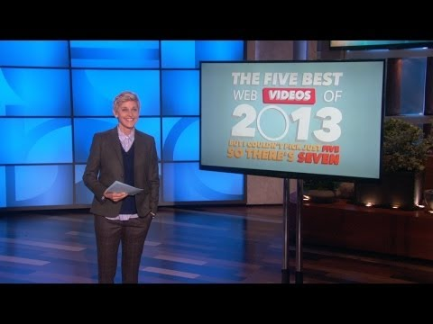 Ellen's Top 5 Web Videos of 2013! Music Videos