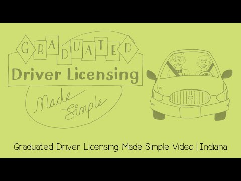 Graduated Driver Licensing Made Simple | Indiana