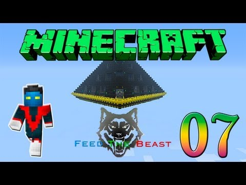 Minecraft Feed the Beast #7 - Fazendo a Mob Trap