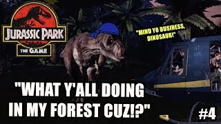 """FUNNY """"JURASSIC PARK, THE GAME"""" GAMEPLAY #4"""
