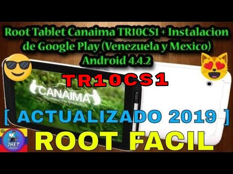 Root Tablet Canaima TR10CS1/TR10RS1. Google Play Store. SuperSU. Gmail. Solucion Error OEM. Parte 1