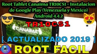 Root Tablet Canaima TR10CS1/TR10RS1, Google Play Store, SuperSU, Gmail, Solucion Error OEM, Parte 1