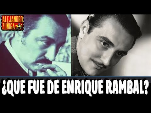 QUÉ FUE DE ENRIQUE RAMBAL!!! Actor de Cine Mexicano
