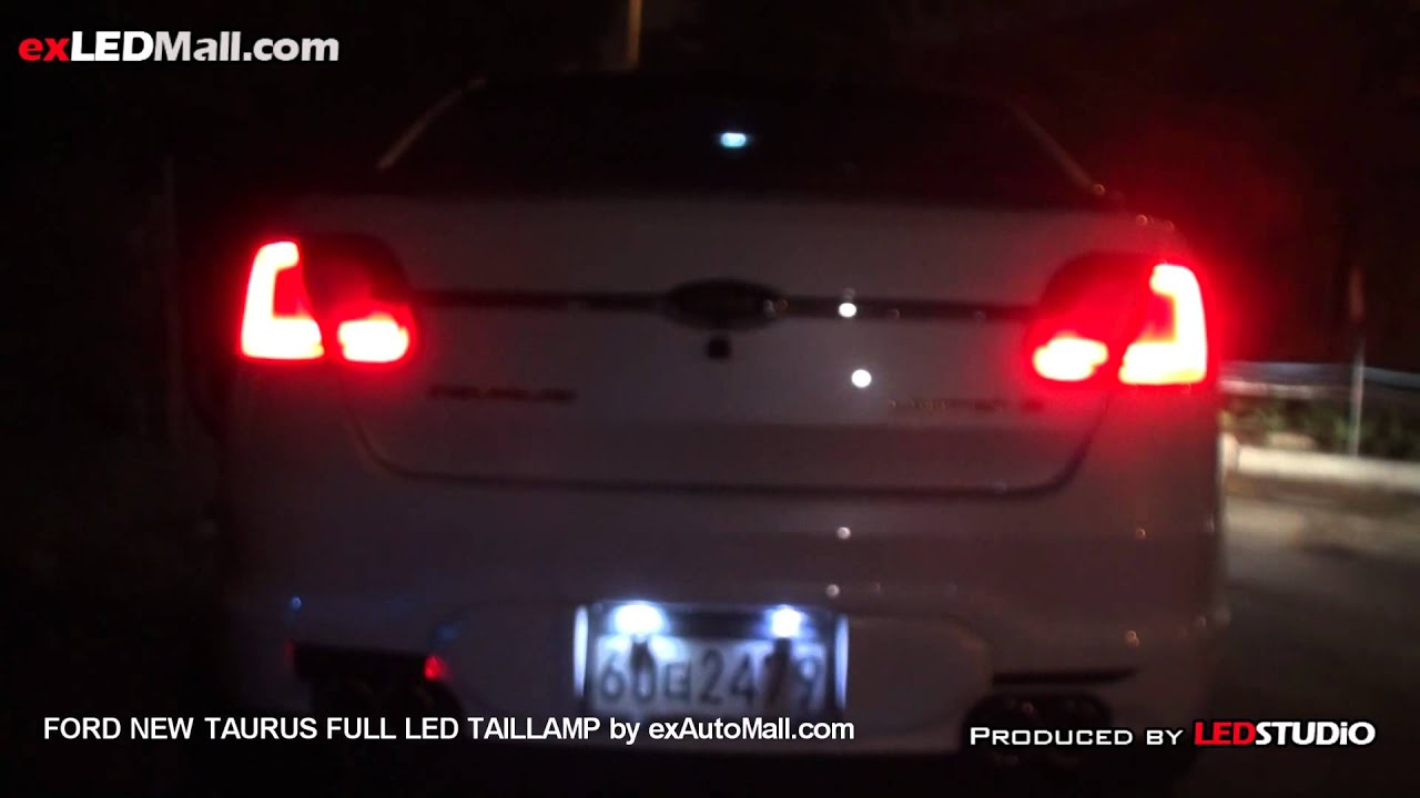 Full Led Tail Lamp For Ford New Taurus By Exledshop Com