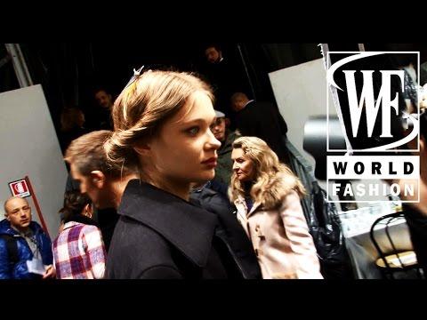 Backstage Blumarine Fall-Winter 2014-15