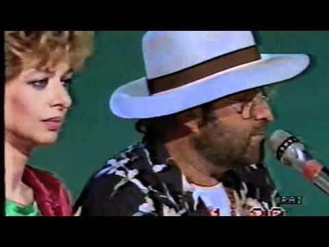 Lucio Dalla ed Enrica Bonaccorti