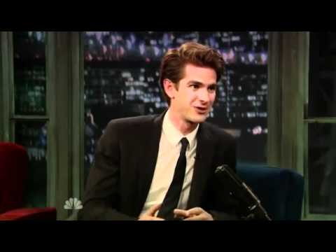 Andrew Garfield on Late Night With Jimmy Fallon (09-27-2010)