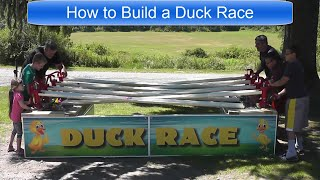How to Build a Duck Race