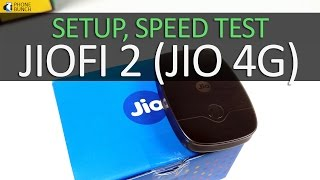 JioFi 2 Personal Router (Jio 4G) - Unboxing, Setup, Password Change, Speed Test