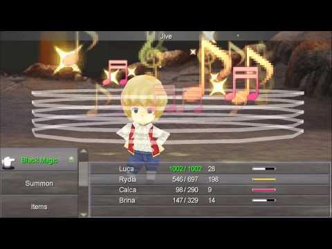 Misc Computer Games - Final Fantasy 4 - Land Of Dwarves