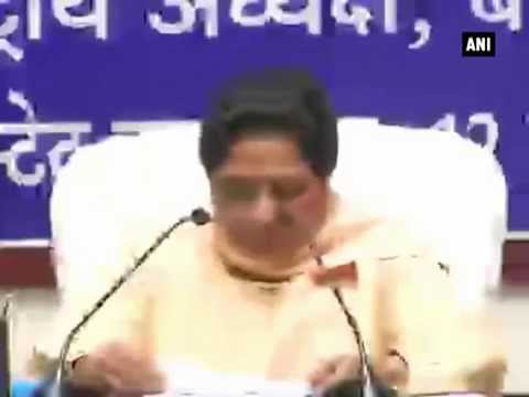 Mayawati slams SP govt for deteriorating law & order situation, dares them to go for mid-term polls
