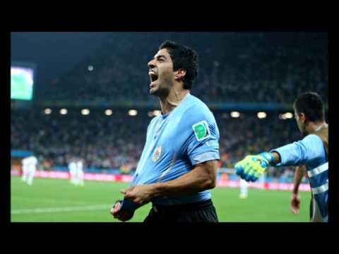 Uruguay Defeats England  2-1
