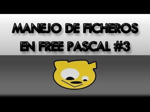 Manejo de Ficheros en Free Pascal #03: Ficheros de Texto - Ejemplo 1