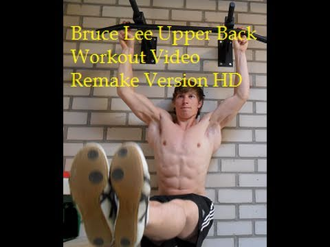 Wings Like Bruce Lee (remake) Upper Back Workout Image 1
